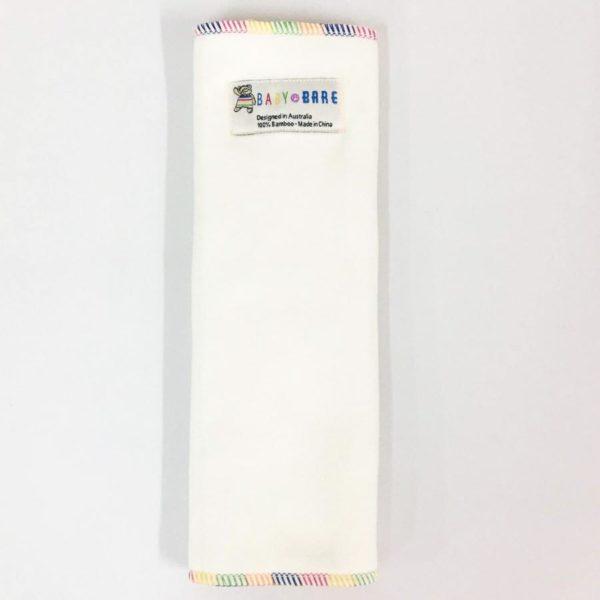 Newborn MuslinZ 6 Pack Size 1 Prefold Unbleached Organic Cotton Muslin Nappies